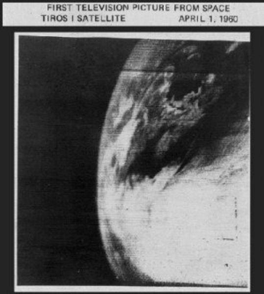 Az elsõ mûholdkép az 1960-as évekbõl