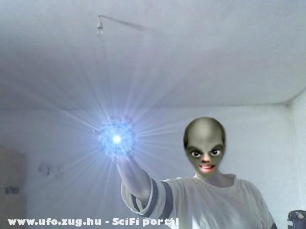 Alien in my home