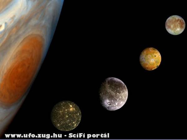 Jupiter és a holdjai