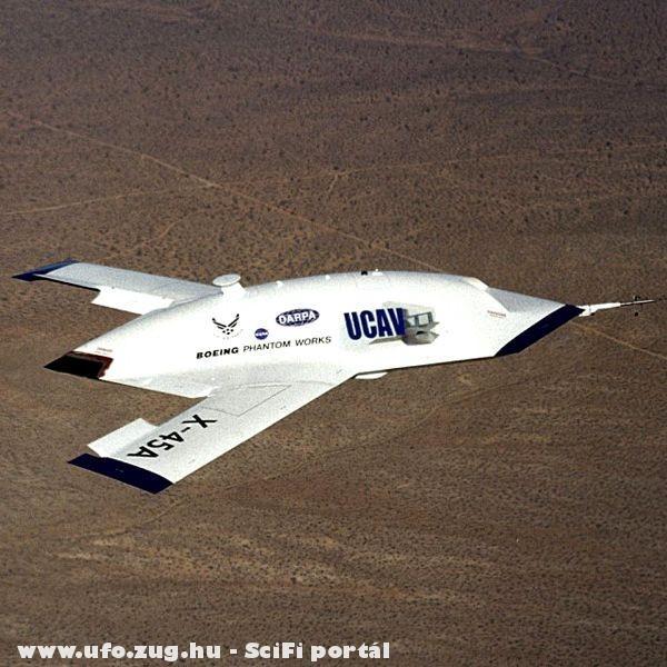 Ez egy amerikai vadászgép vagy egy ufó!?