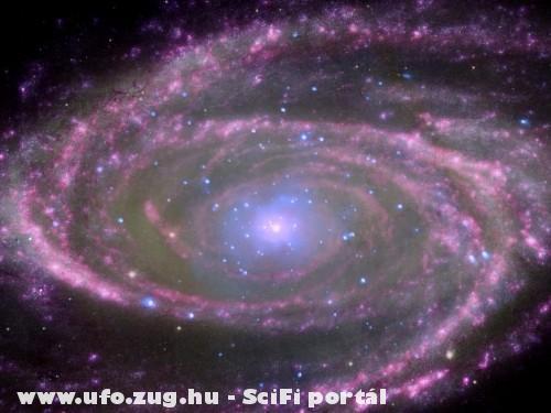 Ilyen 10000 fényév távolságból a galaxisunk!