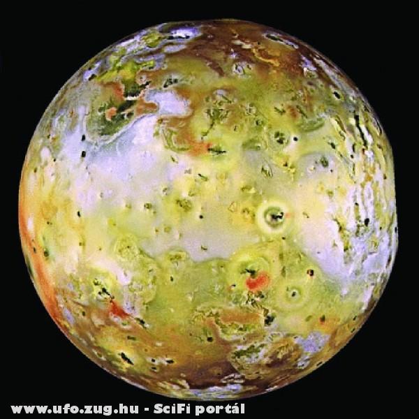 A Jupiter holdja az Io