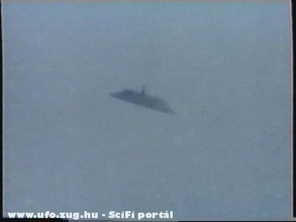 Közeli kép, egy ismeretlen repülõ tárgyról