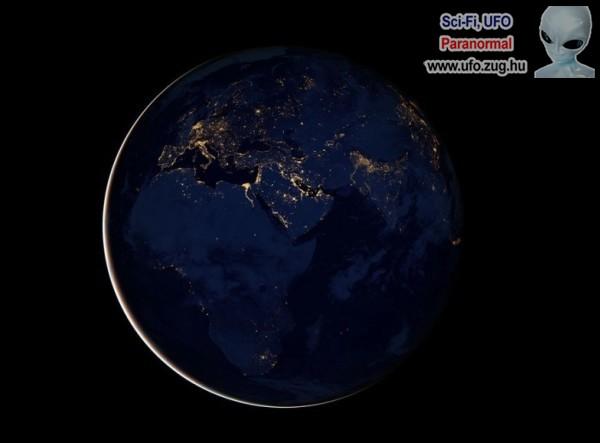 A Föld bolygón itt épp éjszaka van!