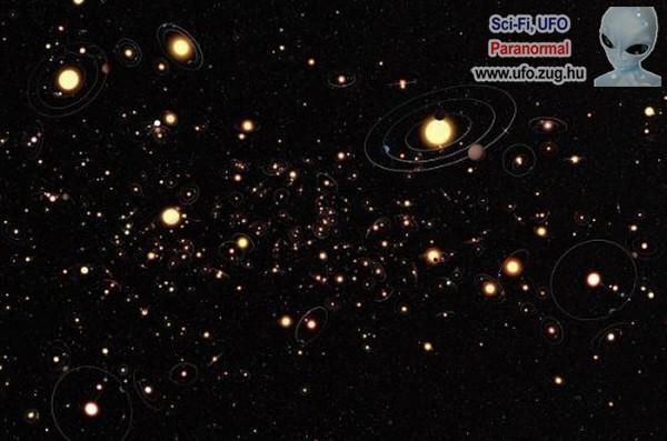 Milliárdnyi naprendszer van a világegyetemben