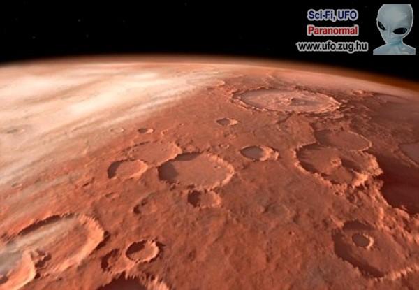 Üstökösök és meteoritok nyoma a Marson