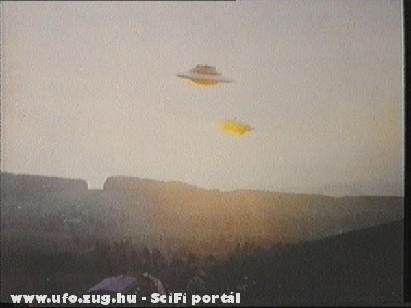 Arizónai felvétel egy uforól