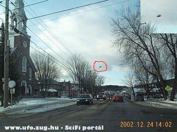 Canada 2002 ufo az égen