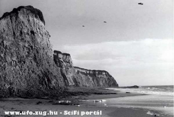Ufo a part felett