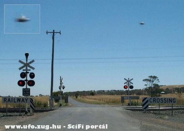 Azonosítatlan repülõ tárgy Ausztráliában