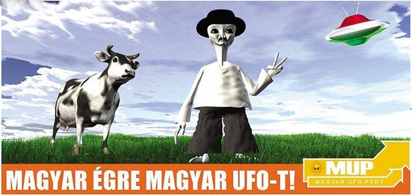Magyar égre magyar UFO-t!